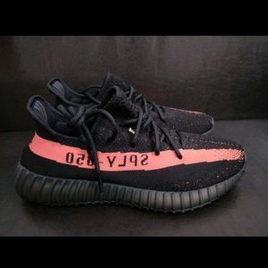 ed4d09022 Adidas yeezy boost 350 v2 core black red